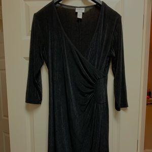 Chico's travelers black dress Size 1